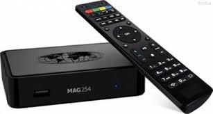 IPTV Box mag322 mit Fernbedienung