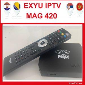 ExYU IPTV Box POQSY
