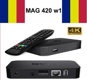 Romanian IPTV Box MAG 420