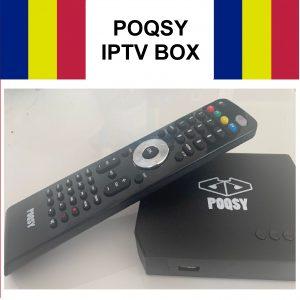 Romania IPTV Box POQSY