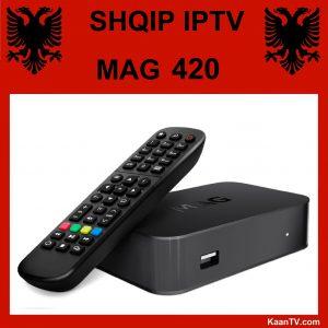 Shqip IPTV Box Mag 420