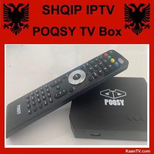 Shqip IPTV Box Poqsy