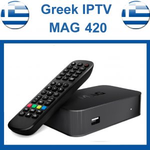 Greek IPTV Box Mag 420
