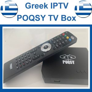 Greek iptv Box POQSY