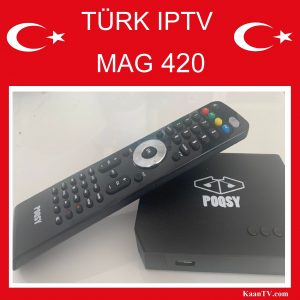 Turk IPTV Box POQSY